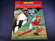 P4-3 Sports Illustrated Magazine - October 20, 1975 - Johnny Bench Reds