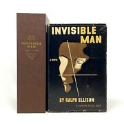 Invisible Man, Ralph Ellison. First Edition, 1st Printing W/ Custom Case.