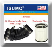 Engine Air Intake Hose W/clamps And Air Filter Fitsrsx 2002-2006 Cr-v 2002-2004