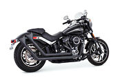 Freedom Performance Up Sweeps W/endcap Exhaust Black Fishtail End Cap Hd00765
