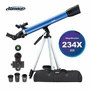Aomekie Telescopes For Adults Astronomy Beginners Kids 234x Magnification Tra...