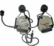 Closed-ear Electronic Hearing Protection Earmuffs And Communication Headset Wit...