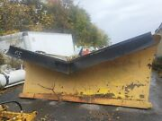 Heavy Duty V-plow / 12and039 Ft / Expressway Snow Plow / Hydraulic / Truck / Tractor