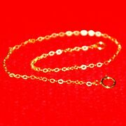 Wholesale Lots 14kt Gold Filled 1.5x2mm Flat Cable Chain Bracelets / Anklets