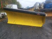 Heavy Duty Roll Plow To Right / 10and039 Ft / Snow Plow / Mechanical / Truck Tractor