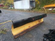 Heavy Duty Power Angle / 8and039 Ft / Snow Plow / Hydraulic / Truck Tractor