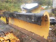 Heavy Duty Power Angle / 11and039 Ft / Snow Plow / Hydraulic / Truck Tractor