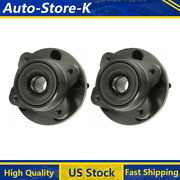Fits Plymouth Grand Voyager 1996 Front Wheel Bearing And Hub Assembly Moog 2pcs