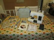 Singer Quantum Xl 5000 Sewing And Embroidery Machine With Tons Of Extras