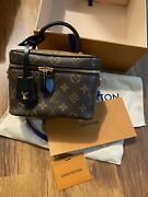 Nwt Louis Vuitton Vanity Pm Case Bag Monogram With Box Dustbag Tags