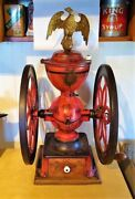 1873 Enterprise Centennial Edition Coffee Grinder With Large Eagle Fennel Top