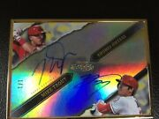 Shohei Ohtani/mike Trout Dual Auto 1/1 2020 Topps Gold Label 🔥🔥
