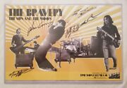 The Bravery Autographed 11x17 The Sun And The Moon Poster