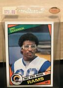 Eric Dickerson Pro Bowl Card Topps 1984 280 Mint Condition
