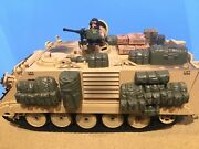 1/18 M113 Apc Desert Camo With Extra Ammo Cans And Mreand039s Cases 21st Century Toy