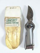 Vintage Garden Pruner Shears Seymour Smith And Sons Oakville Ct Primitive Clippers