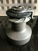 Lewmar 43 Self Tailing Winch 2 Speed Manual Works Very Good Condition