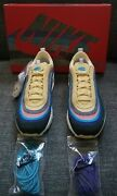 Nike Air Max 1/97 Vf Sw Sean Weatherspoon 2018 Extra Lace Set Us 10 Brand New