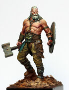 Bress The Old Barbarian Figure Painted Toy Fantasy Miniature Pre-sale   Museum