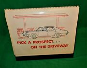 🔥 Vintage Ac Delco Gm Service Department Shop Sales Display 21 Pages Chevy