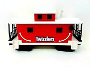 2011 Lionel G Scale, Twizzlers Plastic Train Caboose Car, Hershey