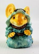 1993 Ganz Little Cheesers Mouse Christmas Mary 05400 - Nativity Mouse