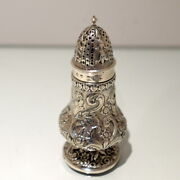 Antique George Iv Sterling Silver Sugar Caster Glasgow 1825 Robert Gray And Sons
