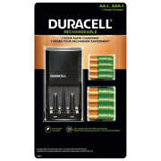 Duracell Ion Speed 4000 Rechargeable Battery Kit With 4 X Aa Batteries