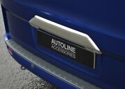 Chrome Rear Tailgate Grab Handle Trim Cover To Fit Ford Tourneo Custom 2012