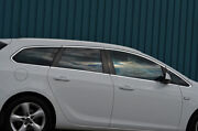 Chrome Side Door Window Sill Trim Covers To Fit Vauxhall Astra J Estate 10-16
