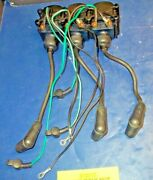 1987 Mercury 90 Hp 3 Cyl. O/b 7370a13 Coil Assy.ignition And Cover Serial 0b180942