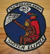 Vietnam 556th Recon Squadron Japanese Novelty Patch Flew Drones Over North Vn