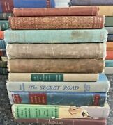 Lot Of 10 Antique Collectible Vintage Old Rare Hard To Find Books Mix Random