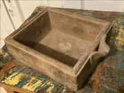 17th C Antique Old Rare Sandstone Hand Carved Rare Big Bowl Pot With Tape Mouth