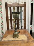 Antique Brass Hand Carved Rare Royal House Mughal Persian Hooka Pot Complete