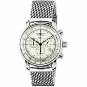 Sale Zeppelin 7680m-1 Menand039s Watch 100 Year Anniversary Silver Dial