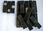 120 Gr Ic Chip Vintage Cpu For Gold Scrap Recovery