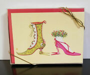 Patience Brewster Boxed Holiday / Christmas Cards Holiday Shoes Ch02018 New