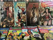 The Amazing Spiderman Wonder Woman Comic Lot Hi Grade Ave. 1 23 16 And More