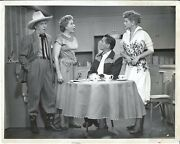 Circa 1951 I Love Lucy Tv Show Photo Lucille Ball