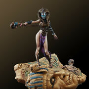 Mummy Queen Painted Toy Fantasy Miniature Pre-sale | Museum