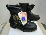 Usgi Military Ski Mountain Boots Size 12 D Cold Weather Hikers Leather Chippewa