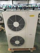 New 6.0 Hp Rotary Cond Unit Low Temp 7 Door Remote Freezer Or Room - 415v