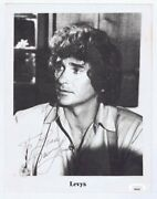 Michael Landon Signed 8.5x11 Photo Jsa Loa Little House On The Prairie