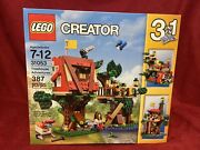Lego Creator 3 In 1 Treehouse Adventures 31053 2016 Retired New Sealed