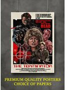 The Terminator Classic Movie Large Poster Art Print Gift A0 A1 A2 A3 A4 Maxi