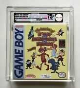 Adventures Of Rocky And Bullwinkle Game Boy Vga 75+ Ex+/nm H-seam Factory Sealed