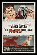 The Nutty Professor ✯ Cinemasterpieces Signed Jerry Lewis Movie Poster 1963
