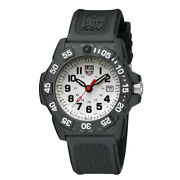 Luminox Navy Seal Diver Watch Xs.3507 White 1 25/32in, 20atm