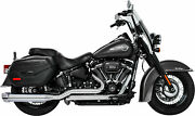 Freedom Performance Softail Combat Dual Exhaust 4.5 Hd00803